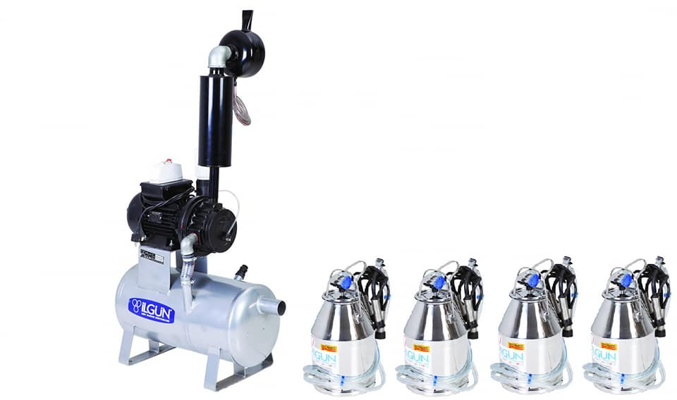 Bucket Milking System (BMS) 4,5,6,8,10